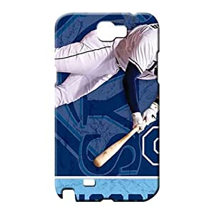 samsung note 2 Classic shell Slim Fit Fashionable Design phone carrying cases tampa bay rays mlb baseball