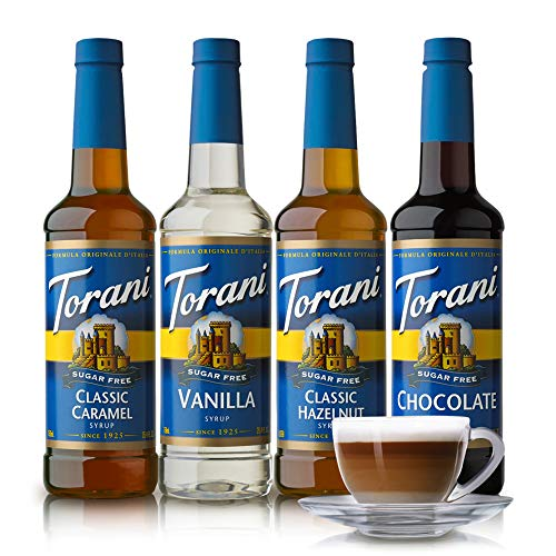 - Torani Sugar Free Syrup Variety Pack, 25.4 Fluid Ounce (Pack of 4)