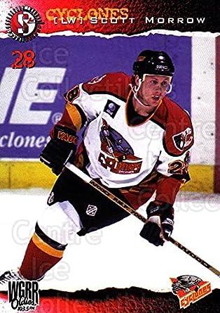 Amazon Com Ci Scott Morrow Hockey Card 1996 97 Cincinnati