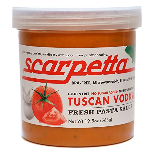 Vodka Sauce (Scarpetta Tuscan Vodka Sauce, 19.8-Ounce Jar (Pack of 4))