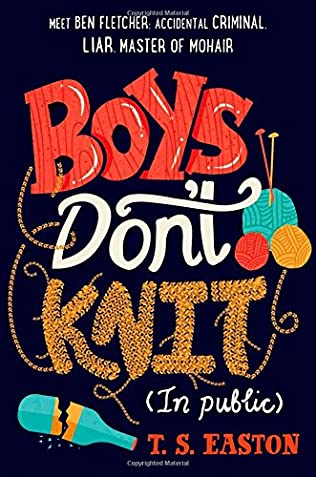 book cover of Boys Don\'t Knit
