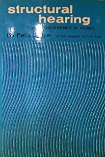 Structural hearing tonal coherence in music dover books on music structural hearing tonal coherence in music volume 2 fandeluxe Images