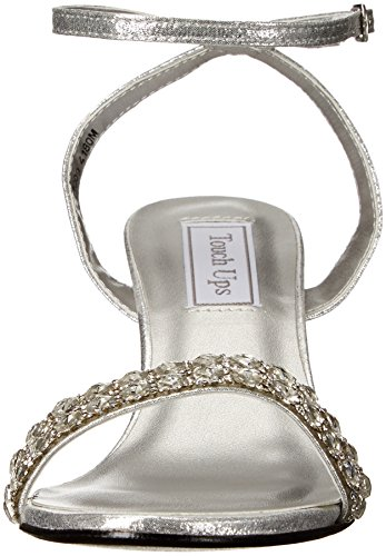 Sandal Carter Ups Touch Silver Women's Wedge pqBBPF