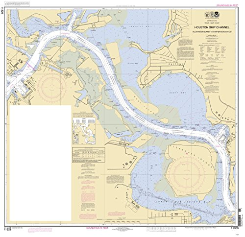 -Stick Poster of Houston Ship Channel Alexander Islnd - Carpenter Bayou Poster 24x16 Adhesive Sticker Poster Print ()
