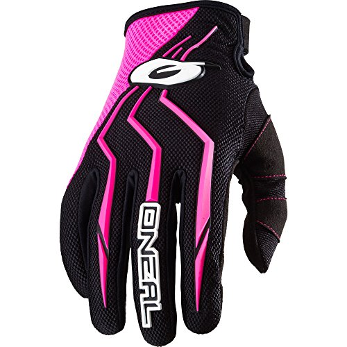 O'Neal Womens Element Glove (Black/Pink,7,  - Element Oneal Womens