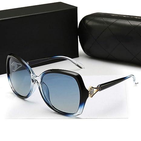 GJZhuan Gafas De Sol Polarizadas De Gran Tamaño para Mujer ...