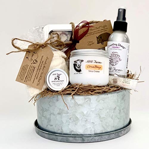 Customize a spa gift set for mom