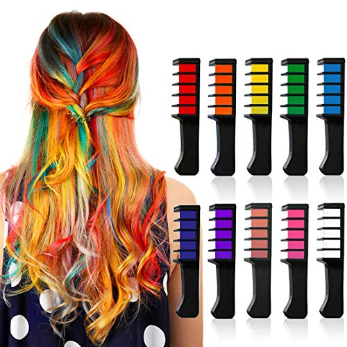 Kyerivs Hair Chalk Comb Temporary Hair Color