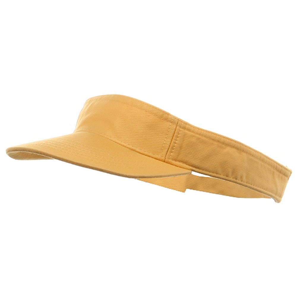 MG Youth Pro Style Cotton Visor, Mango by MG