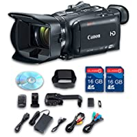 Canon XA35 HD Professional Camcorder + 2 PC 16 GB Memory Cards + All Manufacturer Accessories - International Version