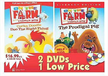 On The Farm Double DVD: Cocka Doodle Doo The Right Thing & The Prodigal Pig