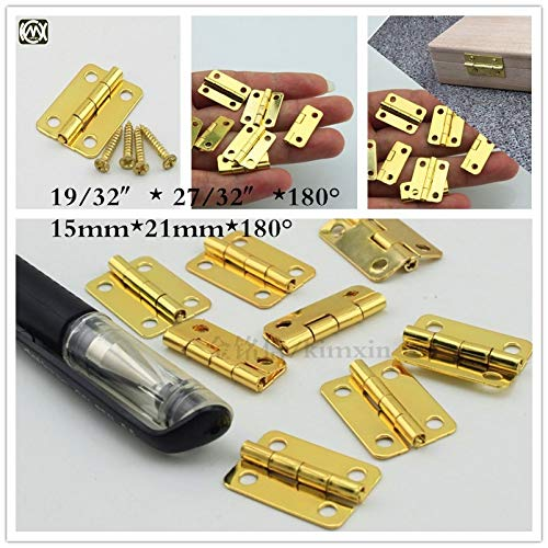in stock 1521mm 20pc 4 hole small wooden gift box hinge of furniture connectors hardware,small box hardware hinges w-039 - (Color: Nickel)