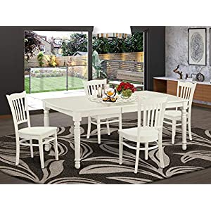 5 PC small Kitchen Table set for 4-Dining Table and 4 dinette Chairs