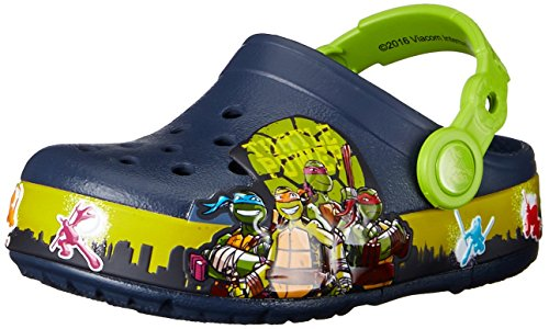 Image of Crocs TMNT II K Light-Up Clog (Infant/Toddler/Little Kid/Big Kid)