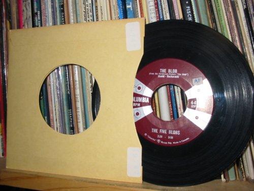 The Blob / Saturday Night in Tiajuana, 1958, 45 Rpm Vinyl Single 7