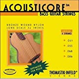 Thomastik-Infeld AB344 Bass Guitar Strings: Acousticore 34-Inch Scale 4 String Set G, D, A, E