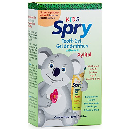 Spry Infant Tooth Gel with (2 Oz Teething Relief)