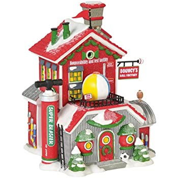 Amazon.com: Department 56 North Pole Series Village Sking ...