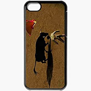 Personalized iPhone 5C Cell phone Case/Cover Skin 2300 1 Black