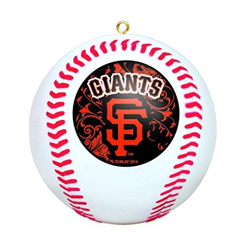 MLB San Francisco Giants Mini Replica Baseball Ornament ()