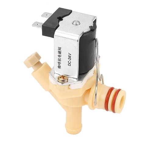Válvula solenoide NC DC24V Válvula solenoide eléctrica normalmente ...