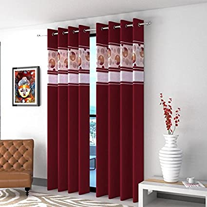 Buy St Decor Decor Beautiful Designing And Stylish Heavy Fabric Long