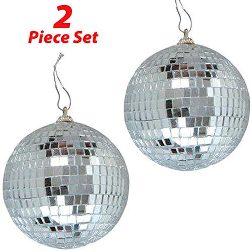 "2 Pack of 4"" Disco Balls 