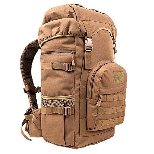 bolso morral de montañismo al aire libre/Mochila de gran capacidad para hombres y mujeres/ mochila trekking-I B