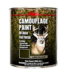 Majic Paints 8-0850-2 Camouflage Paint, Olive Drab