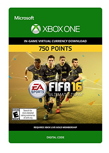 FIFA 16 750 FIFA Points - Xbox One Digital Code by Electronic Arts