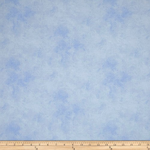 P & B Textiles Suede Medley Lt. Blue Fabric by The Yard -  00301-SUE5-LB