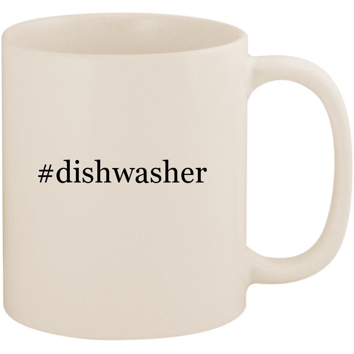 #dishwasher - 11oz Ceramic Coffee Mug Cup, White