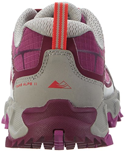 Columbia Trans Alps Ii, Zapatillas de Running para Asfalto para Mujer Morado (Dark Raspberry, Red Camellia 520)