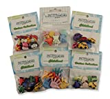 Buttons Galore CHILDHOODGROUP Childhood Button Theme Pack - Set of 6