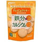 Pigeon iron & calcium Fe + Ca cookies mild Maple 40g ~ 5 pieces