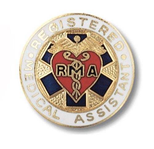 Prestige Medical Emblem Pin, Registered Medical Assistant