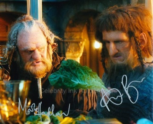 (MARK HADLOW and ADAM BROWN as Dori and Ori - The Hobbit Genuine)