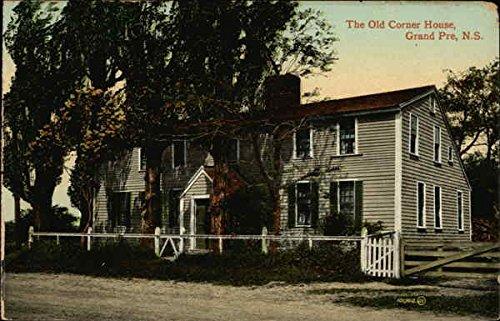 The Old Corner House Grand Pre, Nova Scotia Canada Original Vintage Postcard