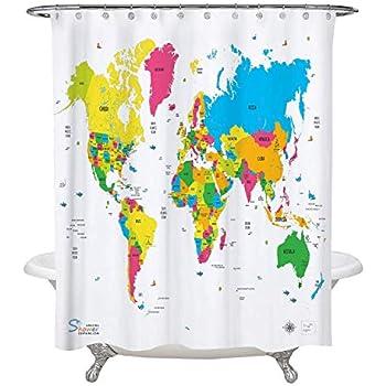 Amazon Periodic Table Shower Curtain Eva Vinyl The Official