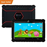 HOLIDAY SPECIAL! Contixo Kids Safe 7' Quad-Core Tablet 8GB, Bluetooth, Wi-Fi, Cameras, Free Games, HD Edition w/ Kids-Place Parental Control, Kid-Proof Case (Black) - Best Gift For Christmas