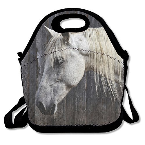 Photos Of White Horse Insulated Lunch Bag - Neoprene for sale  Delivered anywhere in Canada
