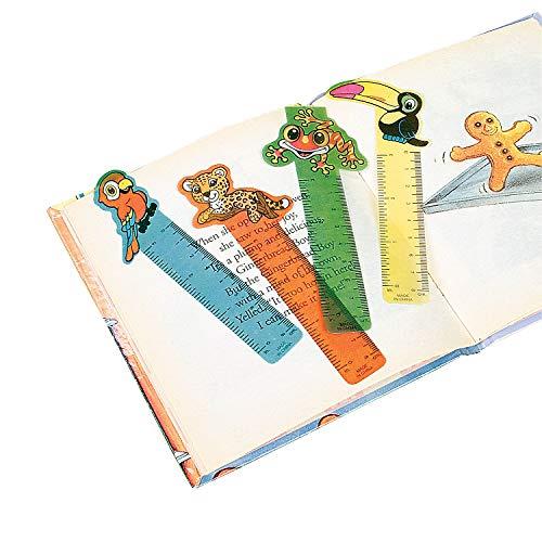 Fun Express Rainforest Friends Ruler Bookmarks (4 Dozen)]()