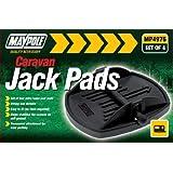 Maypole MP4976 Caravan Jack Pad (Pack of 4)