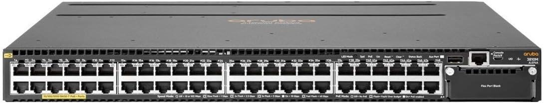 HP JL074A Aruba 3810M 48G POE+ 1-Slot SW