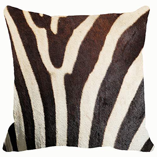 Throw Pillow Covers Closeup Stripes Zebra equus Quagga Animals Wildlife Cotton Linen Cushion Cover Cases Pillowcases Sofa Home Decor 18