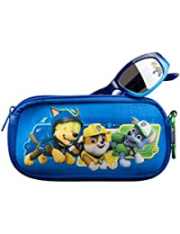 Paw Patrol Kids Sunglasses with Glasses Case and UV Protection