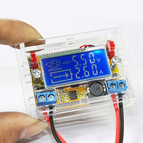 LALICORP DC-DC Adjustable Power Step-down Charge Module DIY Kit Driver Voltmeter Ammeter Peak Current 3A STN LCD display NEW PRODUCT