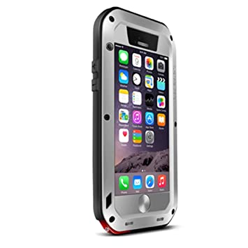 iPhone 6 Case,Aluminum Powerful Shockproof Dustproof Littel ...