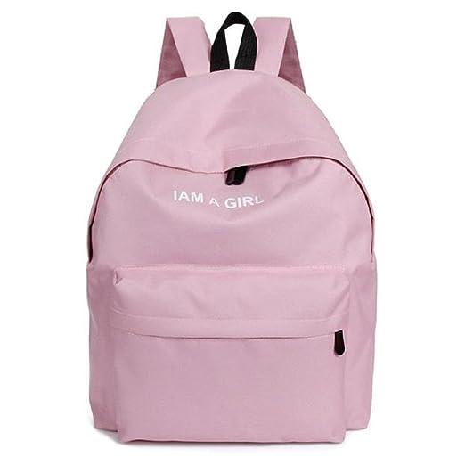 2016 1PC Boys Girls Unisex Canvas Rucksack Backpack School Book Shoulder Bag 9327cf3a22