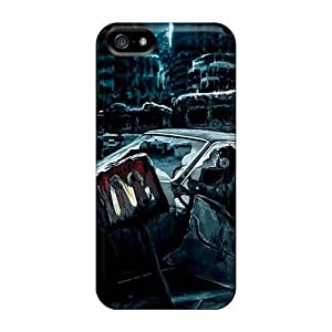 High Quality LastMemory The Postapocalyptic Drawing The Broken Car Skin Case Cover Specially Designed For Iphone - 5/5s wangjiang maoyi by lolosakes